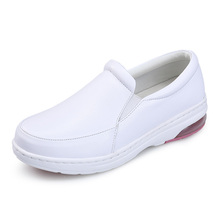High quality wholesale soft comfort white nurse mate shoes with air cushion outsole