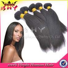 High quality remy 100% human hair weave extension making machine