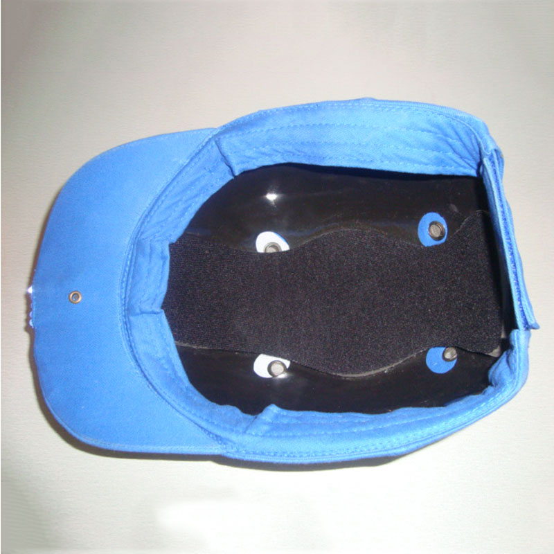 Guangzhou hats supplier custom CE EN812 safety helmet ABS insert vented  baseball style bump cap 87155b5acd05