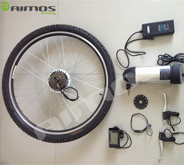 light weight battery powered e bike conversion kit with Thumb Throttle