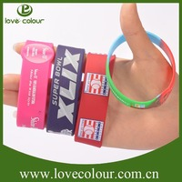 Promotional cheapest gift silicone bracelets from China