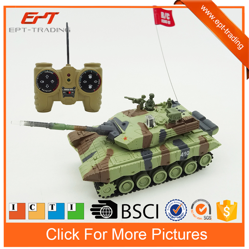 1/64 11ch remote control toy rc military battle tank for kids