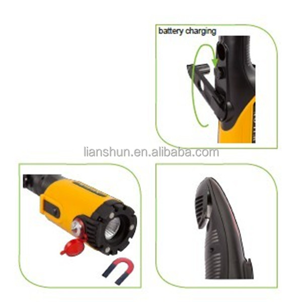 hand crank rechargeable emergency light