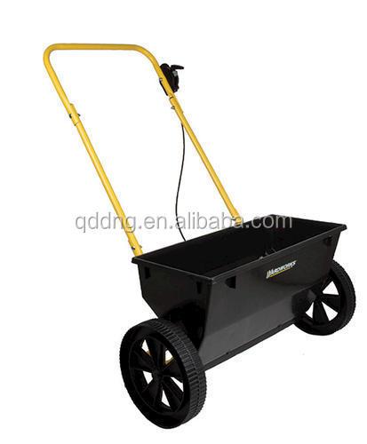 Garden Lawn Manual Spreader Fertilizer Drop Type Spreader With ...