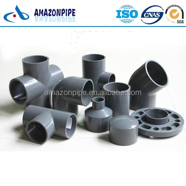 China supply upvc / cpvc / ppr pipe fitting / plastic pipe fittings