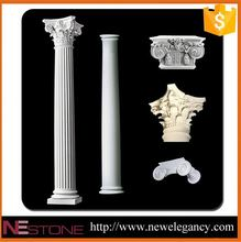 Natural well polished beautiful decorative plastic roman columns