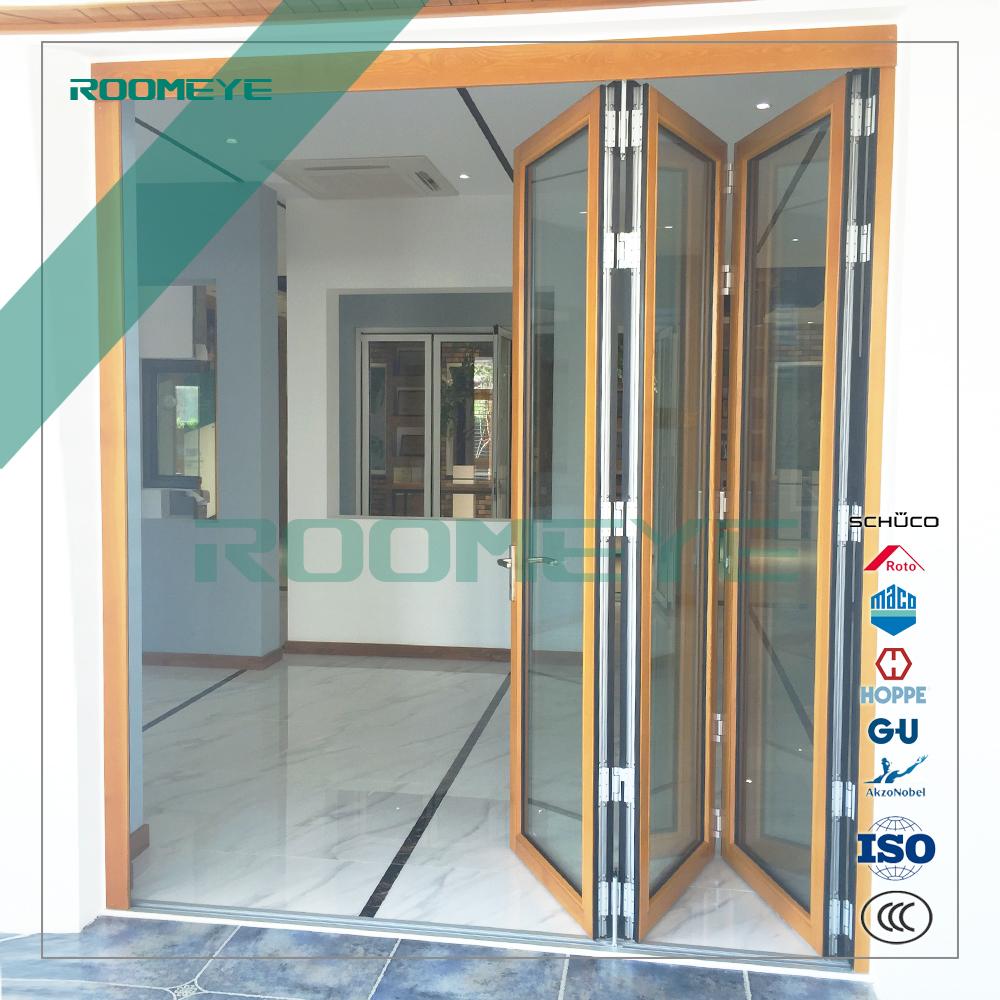 Doppelverglasung Fenster Und Türen Aluminium Bifold Tür Außen Bifold ...