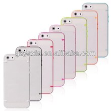 Mobile phone case for iphone 5c,high quality wholesale led case for iphone 5C