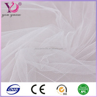 Polyester spun sheer voile white voile fabric for curtain