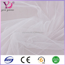 Polyester spun sheer voile white voile fabric