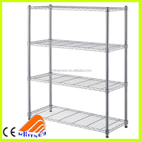 lee rowan chrome plated wire shelving rack with NSF proved for home storage
