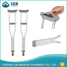 2016 wholesale new style telescopic wing nut bolt crutches light cheap