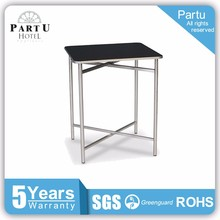 "Partu Lighted Ecoflex Square 24""X24"" Party Commercial Cocktail Tables"