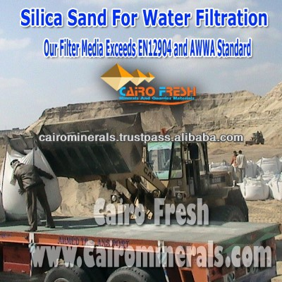 APPROVED BY TOP MAJOR Water Treatment Companies 6mm - 20mm Filter Gravel Exceeds EN12904 and AWWA Standard