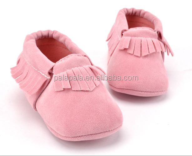 Hot PU Suede Leather Newborn Boys Girls Baby Moccasins Shoes Bebe Fringe Soft Soled Non-slip Footwear Crib Shoes