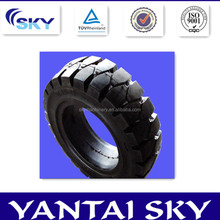 High Quality wear-resisting solid forklift tires 6.5-10