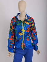 New Arrival Women Spring Flower Printed Jacket Outwear