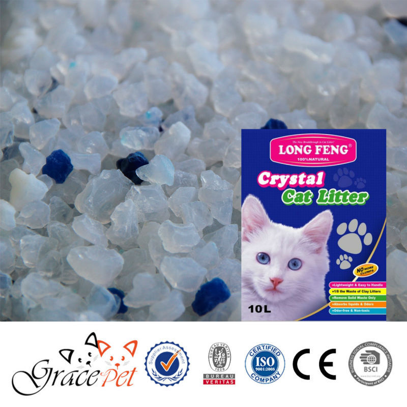 [Grace Pert] Pure premium silica gel cat litter sand