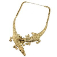Vintage Rhinestone Big Necklaces Pendants Collar Bohemian Statement Necklaces Fashion Accessories