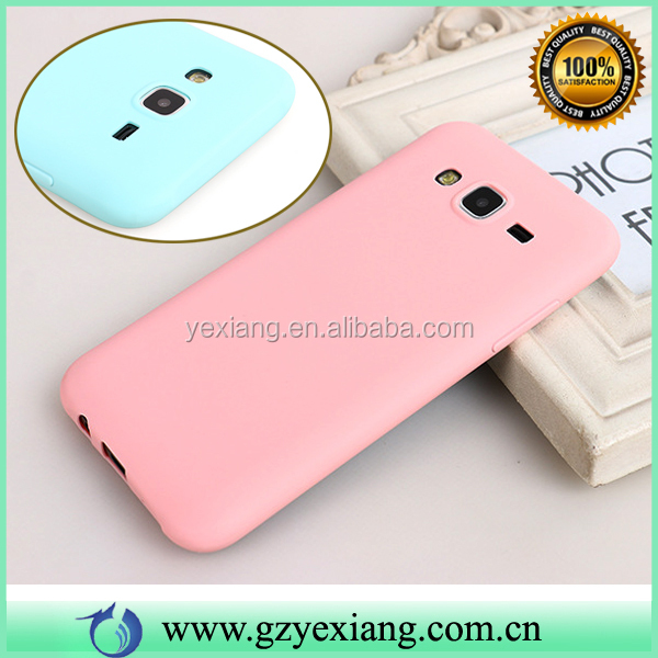 Camera Protective Soft Gel TPU Back Cover Case For Samsung Galaxy Grand 2 G7106