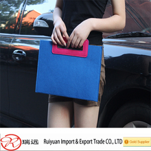 2016 Years Easy Carry Simple Felt Document Bag Wholesale Direct From Factory