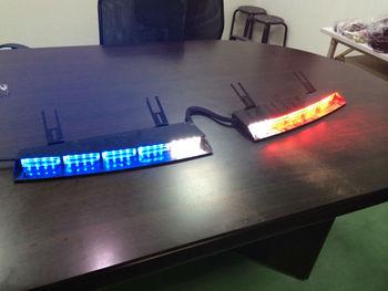 Ji4l 4a x interior lightbar inner visor lightbar sae ems - Federal signal interior lightbar ...