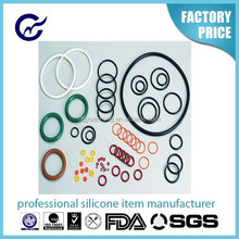 high quality factory price custom different silicone o ring rubber o ring