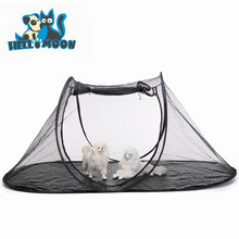 Outdoor Travel Portable Breathable Mesh Pet Playpen
