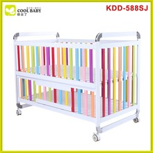 Newest design high quality aluminum baby crib cot , baby crib importers , baby crib set
