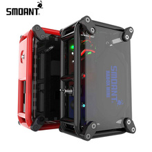 New release compliant smoant 120w rabox mini box mod with 7 colors led light