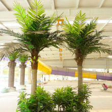 High Quality Artificial Natural Elaeis Fake Tree Canary Palm Phonix Palm landscape trees For Sale