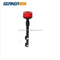 Senken police motorcycle warning light