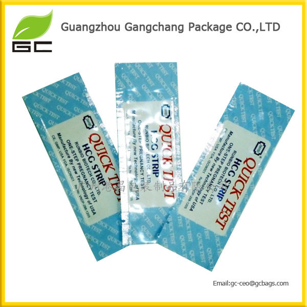 High Quality CMYK printed gusseted wet wipes plastic bag