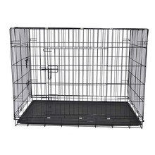 Hot Sale Fashionable Folding Portable Large Size metal mesh Big Dog Cage For Sale