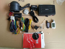 Two way Magicar M903F anti-hijacking security system with manual car alarm system