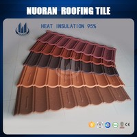NUORAN supply nigeria big wave asphalt shingles synthetic resin roof sheet