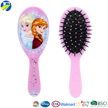 FJ brand kids wig comb brush eco-friendly colorful hair brush