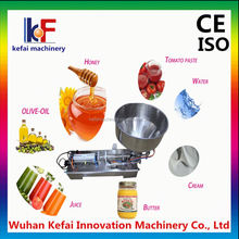 Hot Selling Pneumatic Liquid Sachet Filling Machine With Pedal Switch