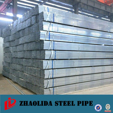 astm pipe steel ! 12mm galvanized square tube for furniture new arrival pre-galvanized square steel pipe