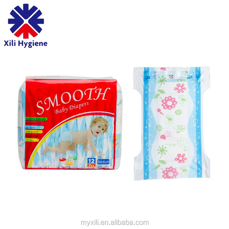 Wholesale Factory Price Disposable Sleepy Baby Diaper Manufacturer in China