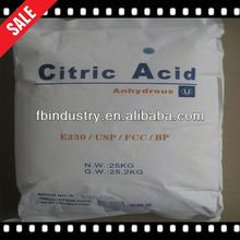 Halal and Kosher Approved citric acid molecular formula 5% Discount Now