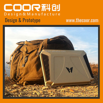 Industrial Design Solar Laptop Notebook PC Solar Panel Charge Laptop ODM COOR Ningbo