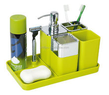 Promotional units storage organizer sets soap box bathroom set wholesale