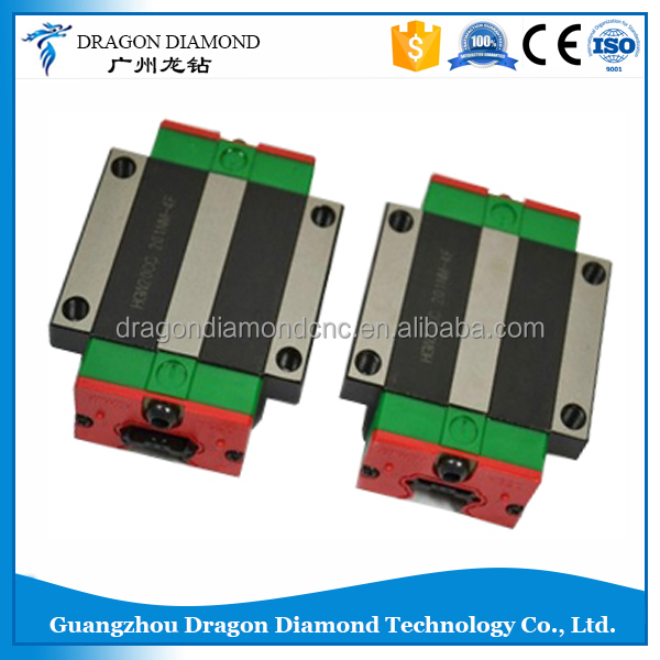 Hot quality HIWIN HGW25CA CNC router linear guide bearing block for linear guide rail