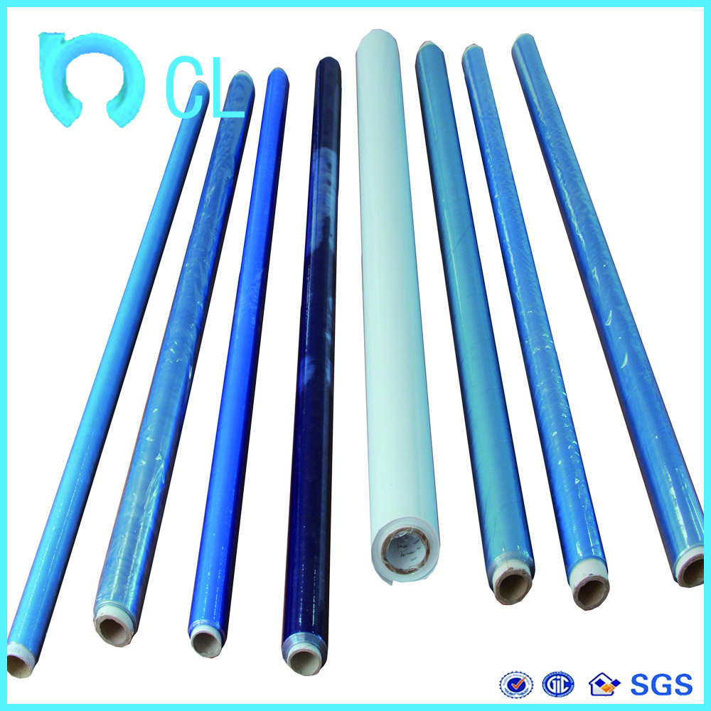 pvc cover plastic sheet in rolling for stationery bags plastic film