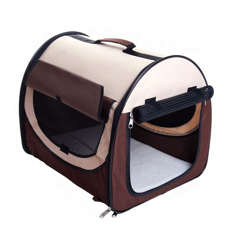 Portable Dog Cage Carrier Pet Bag With Wheels Pocket Cheap Price
