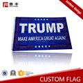 Certificated factory custom logo polyester american flag