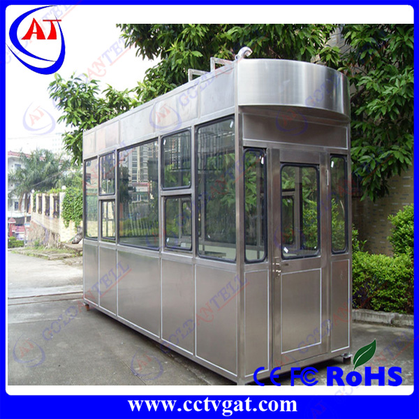 commercial residential building/ building construction/park/ traffic center villacontainer house sentry box in access control