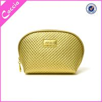 Fashion Design black canvas cosmetic bag clear pvc cosmetic bag for packing