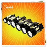 2014 hottest sale high quality fast shipping car led light bar t10 7led indicator